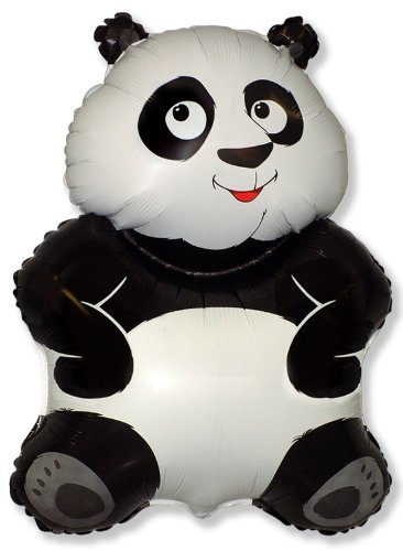 "Toyland 26 ""Big Panda Black & White Folienballon von Toyland"
