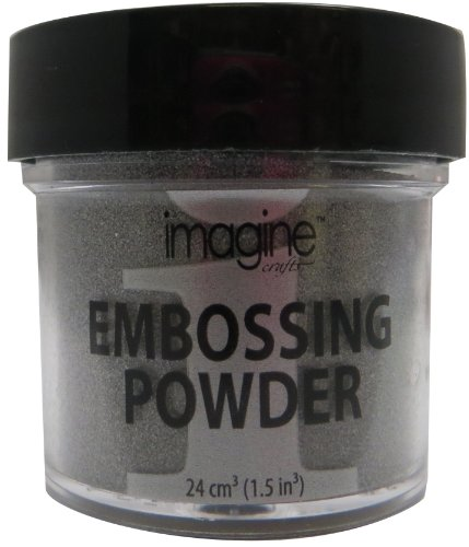 Tsukineko Imagine Crafts 28,5 Embossing-Puder, Silber von Tsukineko