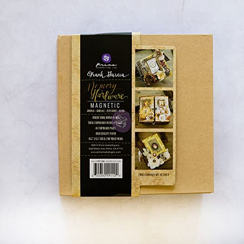 Prima Marketing Frank Garcia Memory Hardware Chip Album-Kraft magnetisch mit 8 Seiten von Prima Marketing