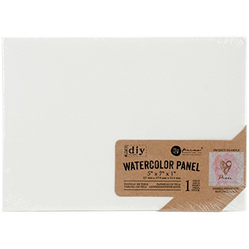 Prima marketingprima Marketing Watercolor Leinwand panel-5-inch X Bluetooth, andere, Mehrfarbig von Unbekannt