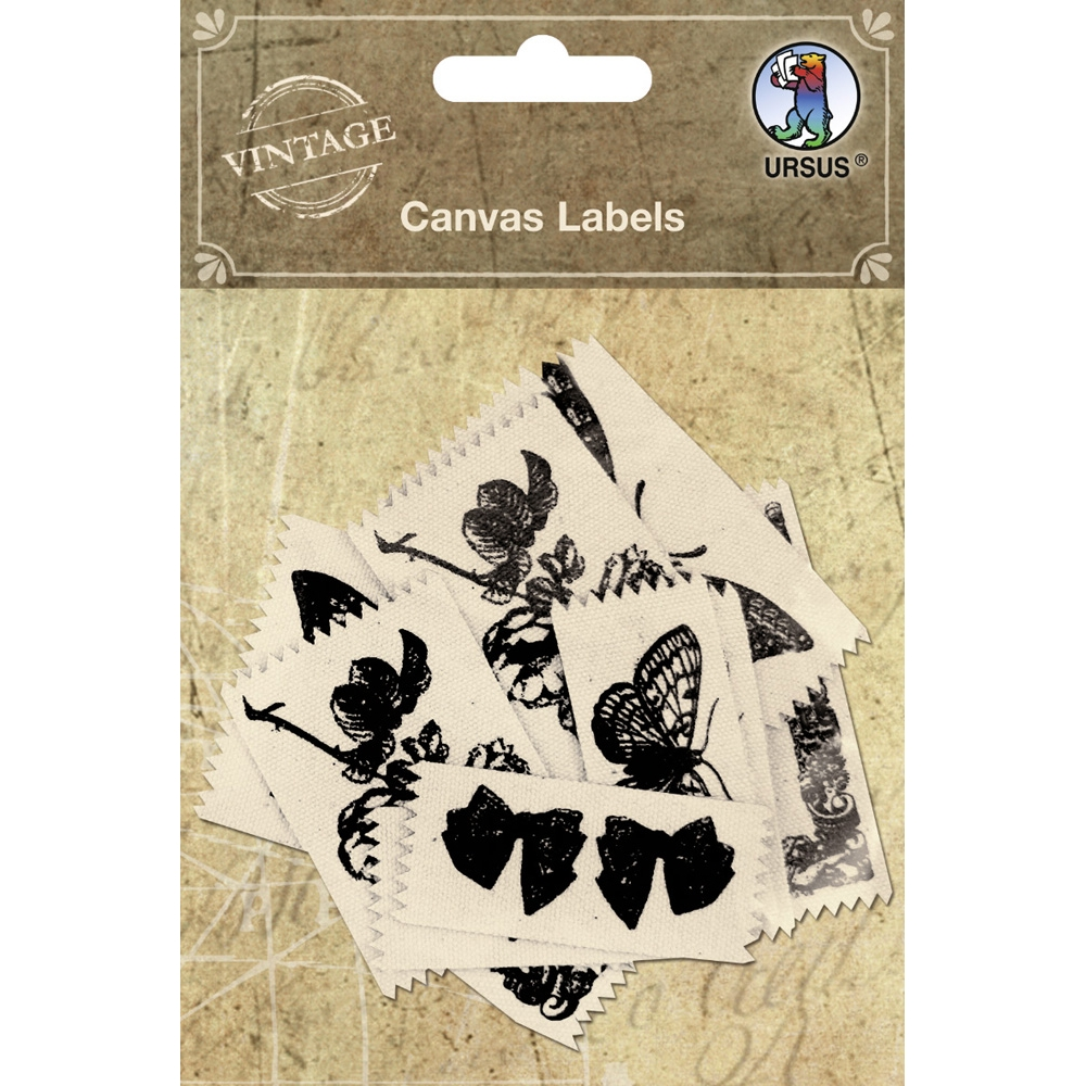 Etiketten `Canvas Labels` Motiv 02 von Ursus