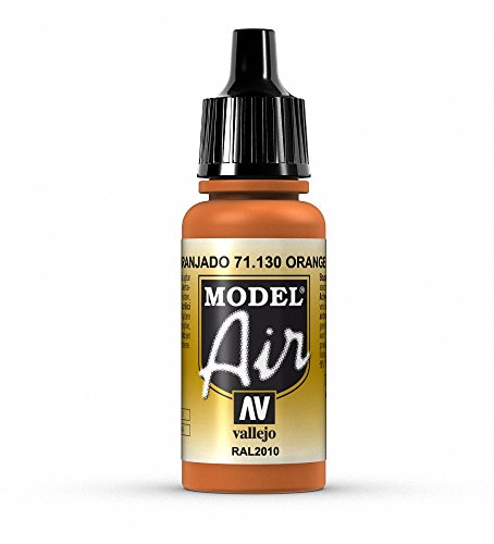 Vallejo Model Air Acrylfarbe, 17 ml Orange Rust von Vallejo
