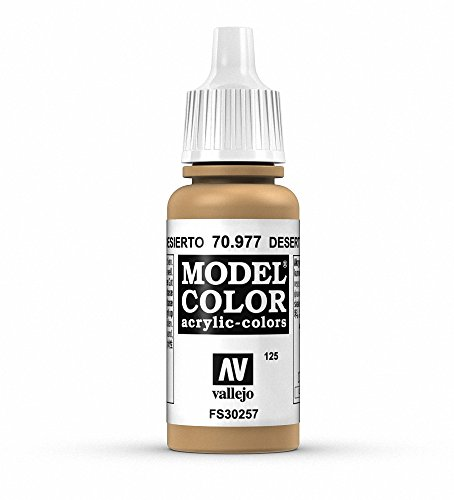 Vallejo, Model Color, Acrylfarbe, 17 ml Desert Yellow von Vallejo