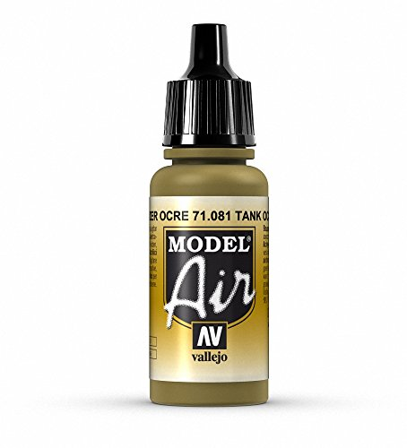 Vallejo Model Air Acrylfarbe, 17 ml Tank  Ochre  1943 von Vallejo