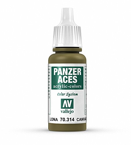 Vallejo Panzer Aces Acrylfarbe, 17 ml Canvas von Vallejo
