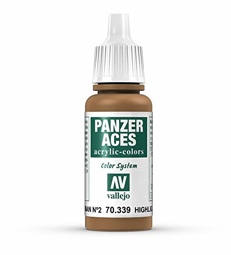Vallejo Panzer Aces Acrylfarbe, 17 ml Highlight German Ii Feldgrau von Vallejo