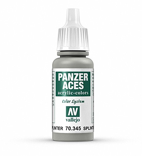 Vallejo Panzer Aces Acrylfarbe, 17 ml Splinter Camouflage Base von Vallejo