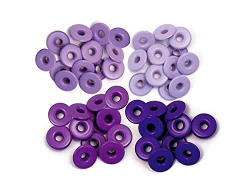 We R Memory Keepers Eyelets Wide Purple von We R Memory Keepers