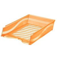 bene Briefablage   orange-transparent DIN C4 von bene