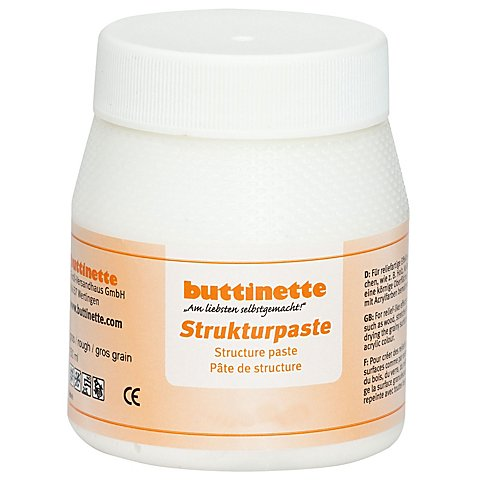 buttinette Strukturpaste, grob von buttinette