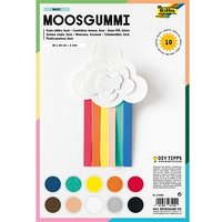 folia Moosgummi Basic sortier von folia