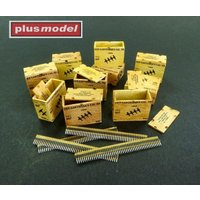 US ammunition boxes for ammunition belts von plusmodel
