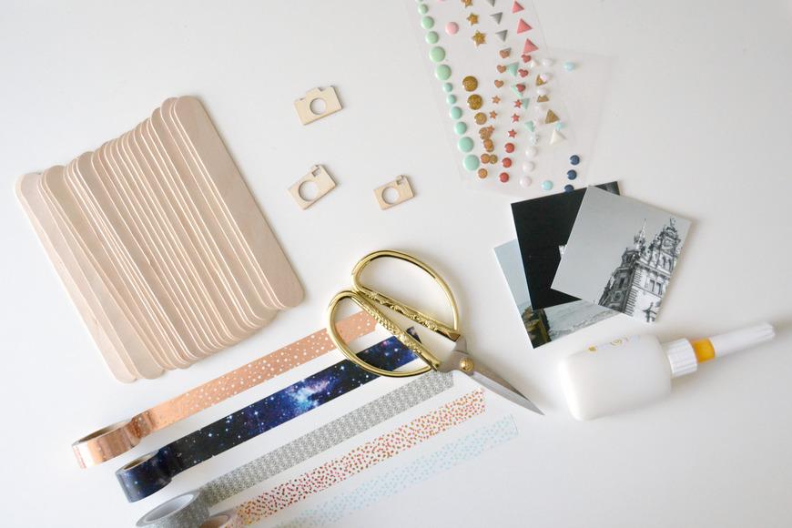 Schicke Bilderrahmen aus Eisstielen | DIY.Academy